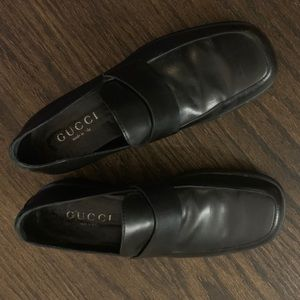 Men's Gucci black loafers size 13